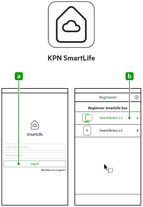 KPN SmartLife-app downloaden en registreren